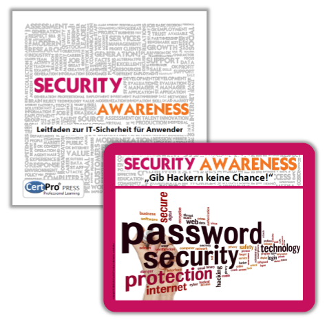 BUNDLE: Security Awareness - Leitfaden zur IT-Sicherheit für Anwender + Mousepad