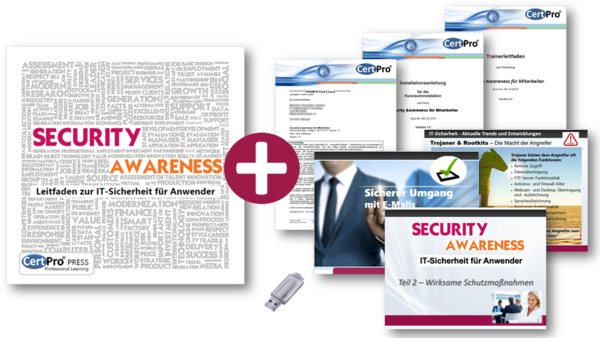 Security Awareness für Anwender - TRAINER-Pack