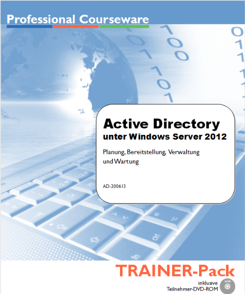 Active Directory unter Windows Server 2012 - TRAINER-Pack